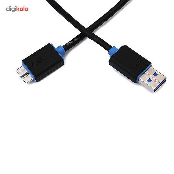 کابل تبدیل USB به microUSB پرولینک مدل PB458 طول 1.5 متر main 1 2