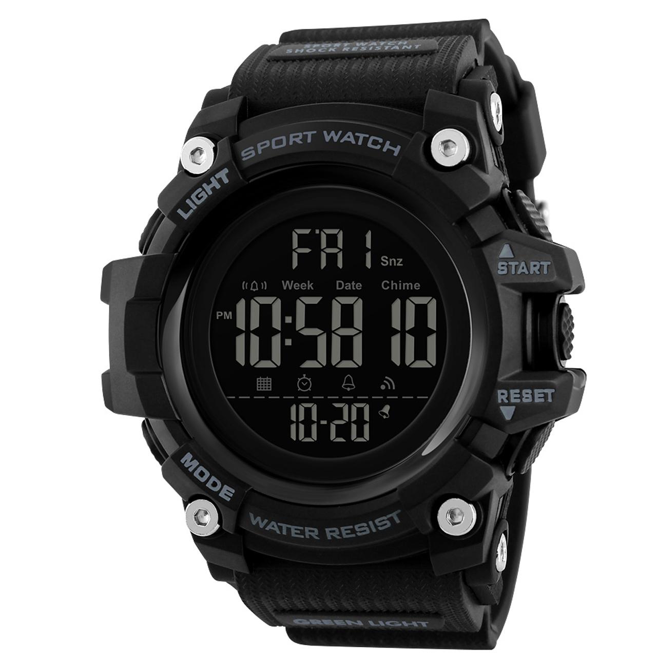 ساعت مچی دیجیتال مردانه اسکمی مدل 1384M 12