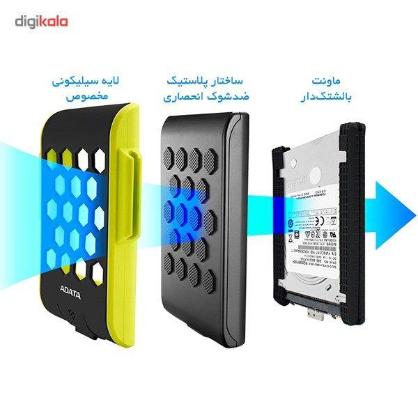 هارد اکسترنال ای دیتا مدل HD720 ظرفیت 2 ترابایت  ADATA HD720 External Hard Drive - 2TB
