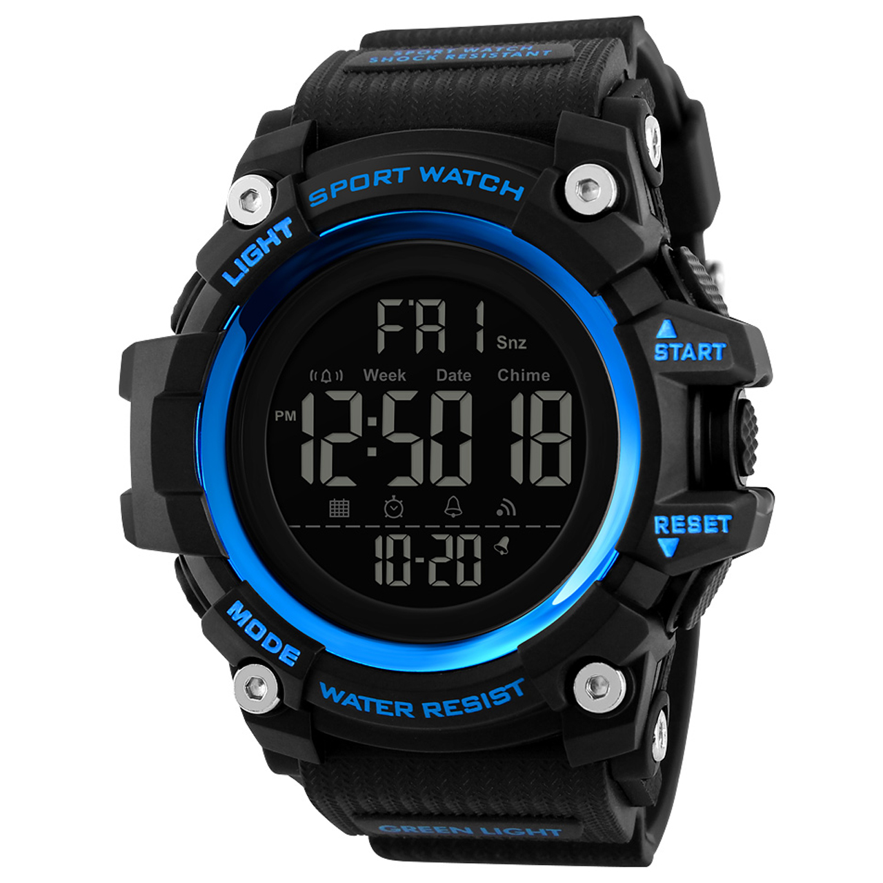 ساعت مچی دیجیتال مردانه اسکمی مدل 1384A 26