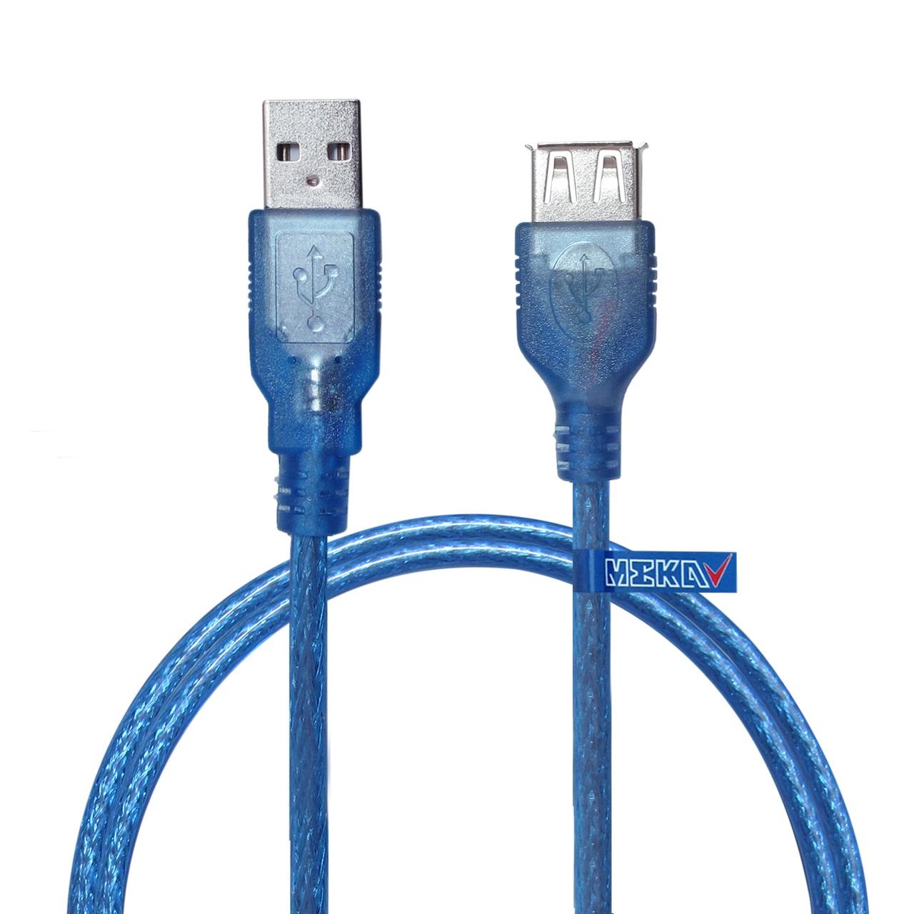 کابل افزایش طول USB 2.0 مکا مدل MUE6 طول 1.5 متر