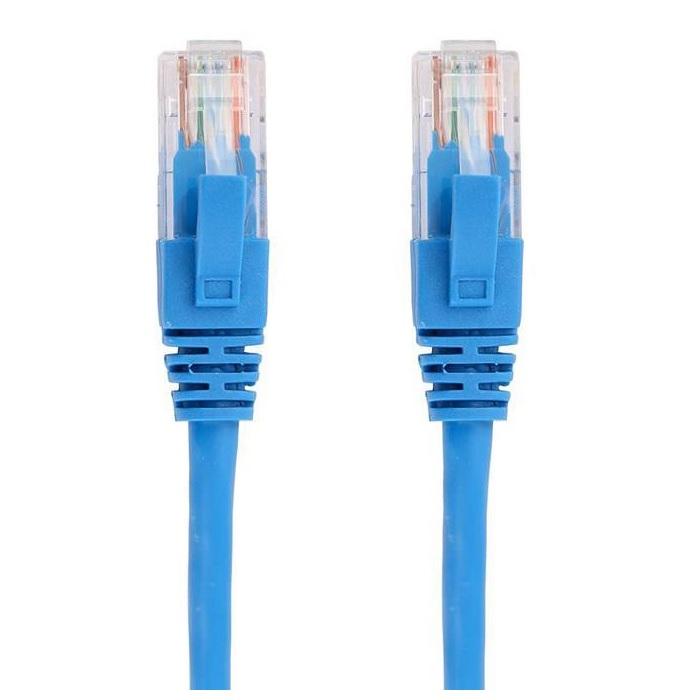 بررسی و خرید [با تخفیف]                                     کابل شبکه CAT5 مدل NV2-5 رنگ آبی                             اورجینال