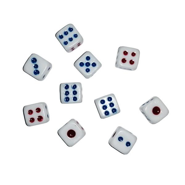 تاس بازی مدل 1010 بسته 10 عددی