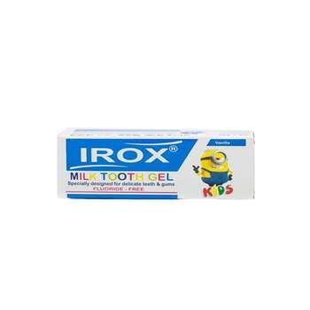 خمیر دندان شیری اطفال ایروکس مدل Vanile حجم 80 میلی لیتر