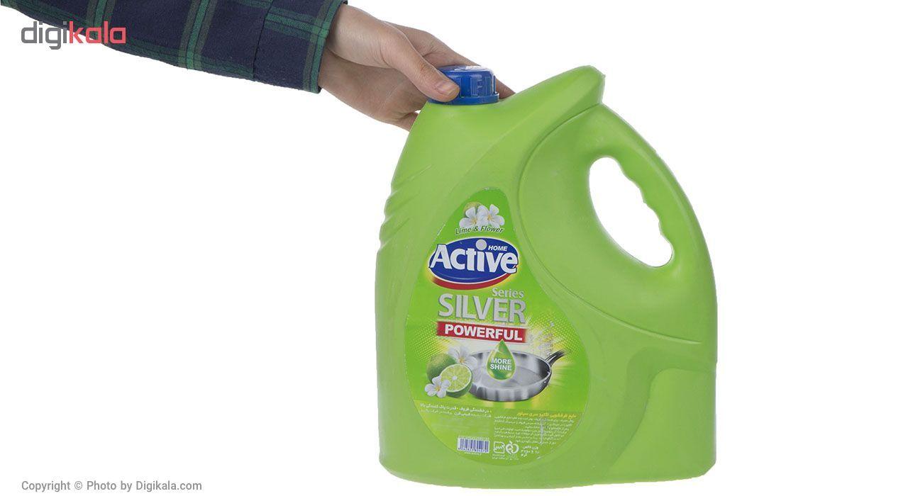 مایع ظرفشویی اکتیو مدل Lime and Flower مقدار 3750 گرم main 1 1