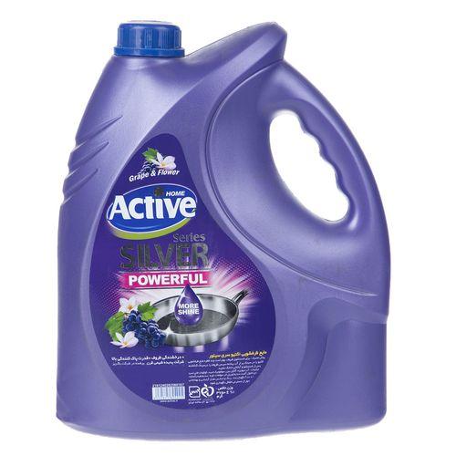 مایع ظرفشویی اکتیو مدل Grape and Flower مقدار 3750 گرم