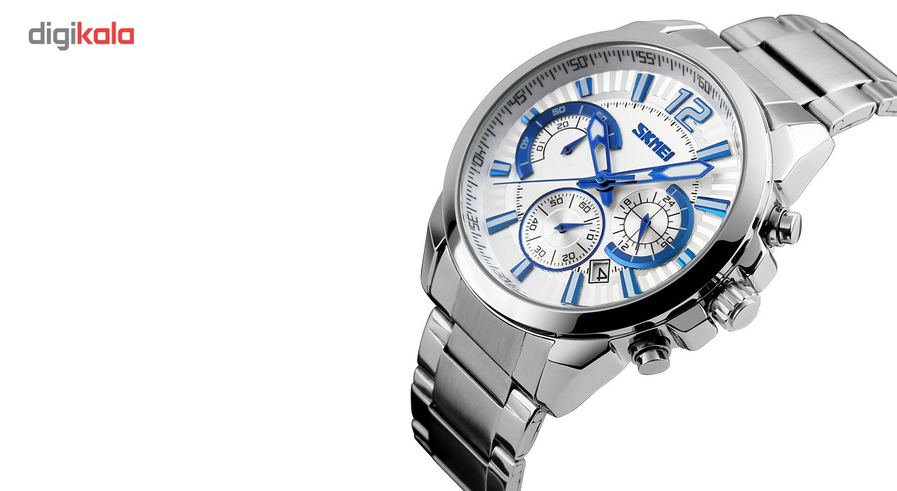 خرید ساعت مچی عقربه ای مردانه اسکمی مدل 9108  کد 01