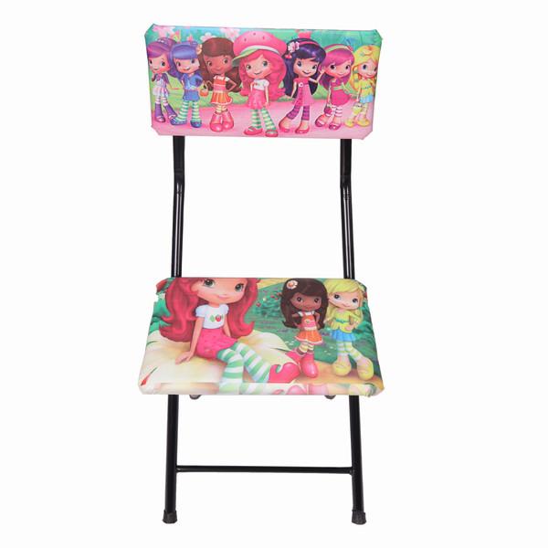 صندلی تاشو اتاق کودک و نوجوان طرح توت فرنگی