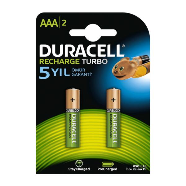 باتری نیم قلمی قابل شارژ دوراسل مدل HR03 بسته 2 عددی