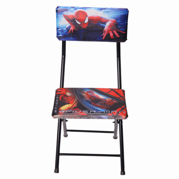 صندلی تاشو اتاق کودک و نوجوان طرح مرد عنکبوتی