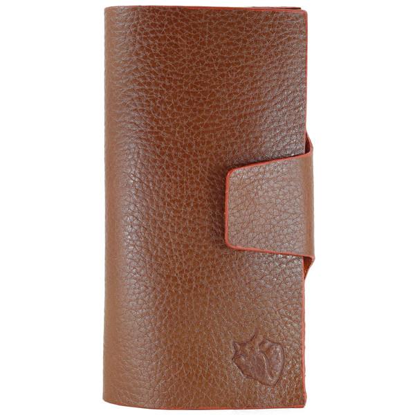کیف پول چرم طبیعی چهارنظم مدل 15004