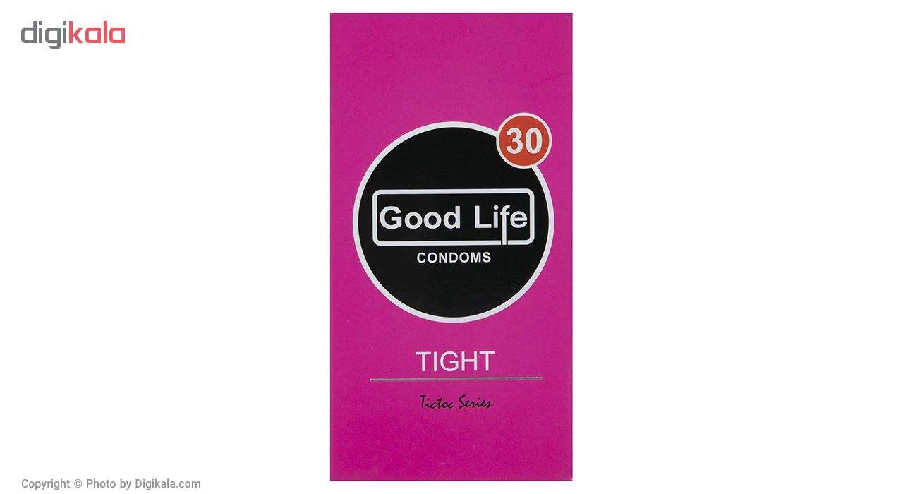 کاندوم گودلایف مدل Tight بسته 12 عددی main 1 1