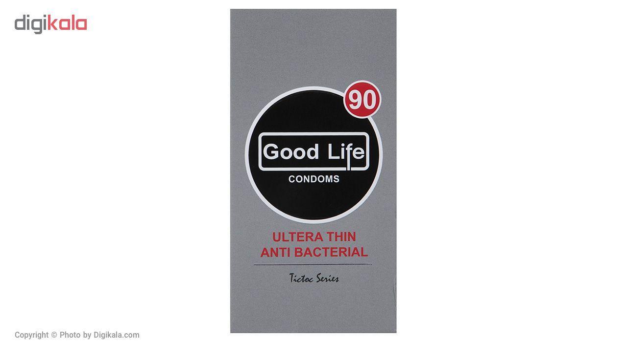 کاندوم گودلایف مدل Ultra Thin Anti Bacterial بسته 12 عددی main 1 1