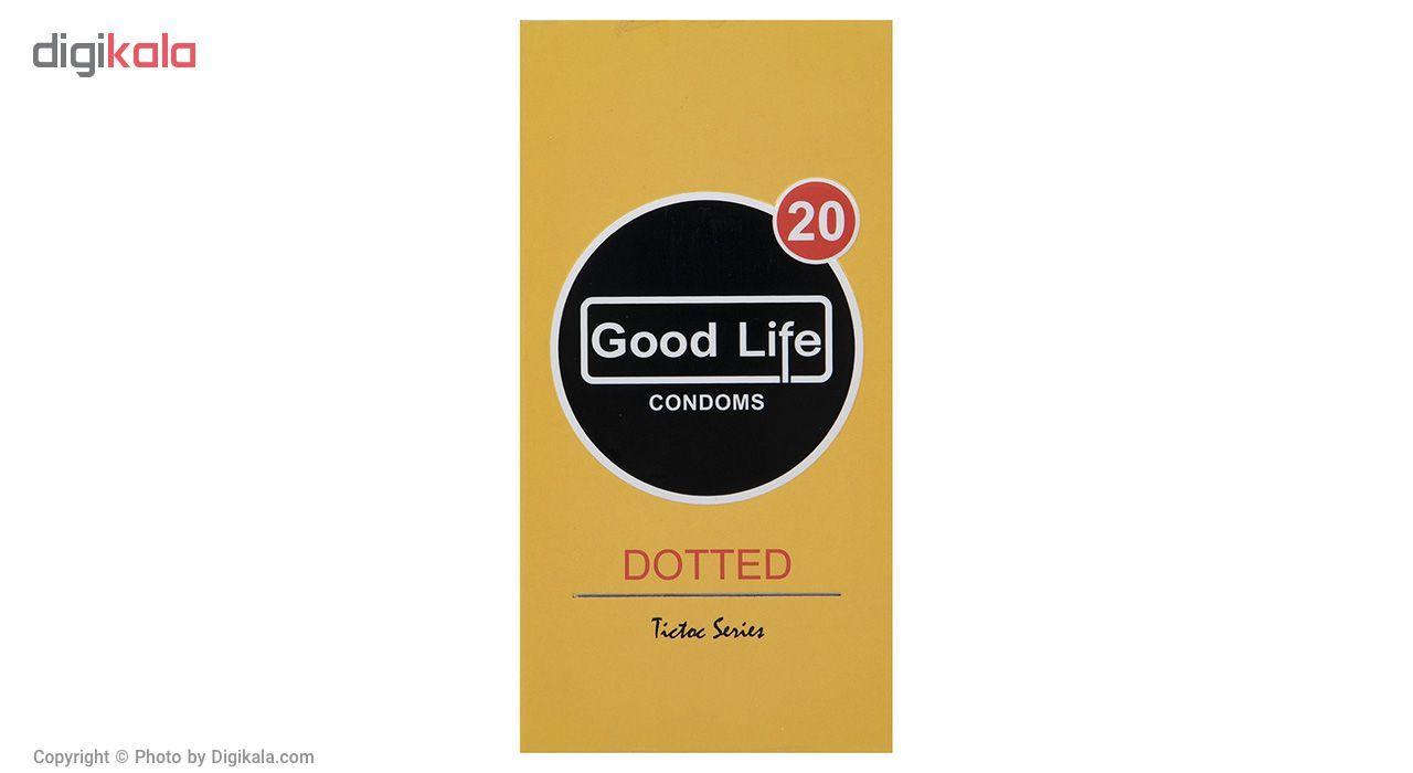 کاندوم گودلایف مدل Dotted بسته 12 عددی main 1 1