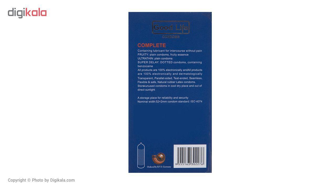 کاندوم گودلایف مدل Complete بسته 12 عددی main 1 2