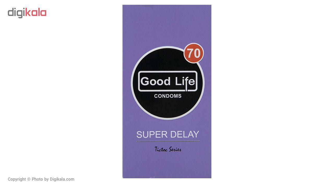 کاندوم گودلایف مدل Super Delay بسته 12 عددی main 1 1