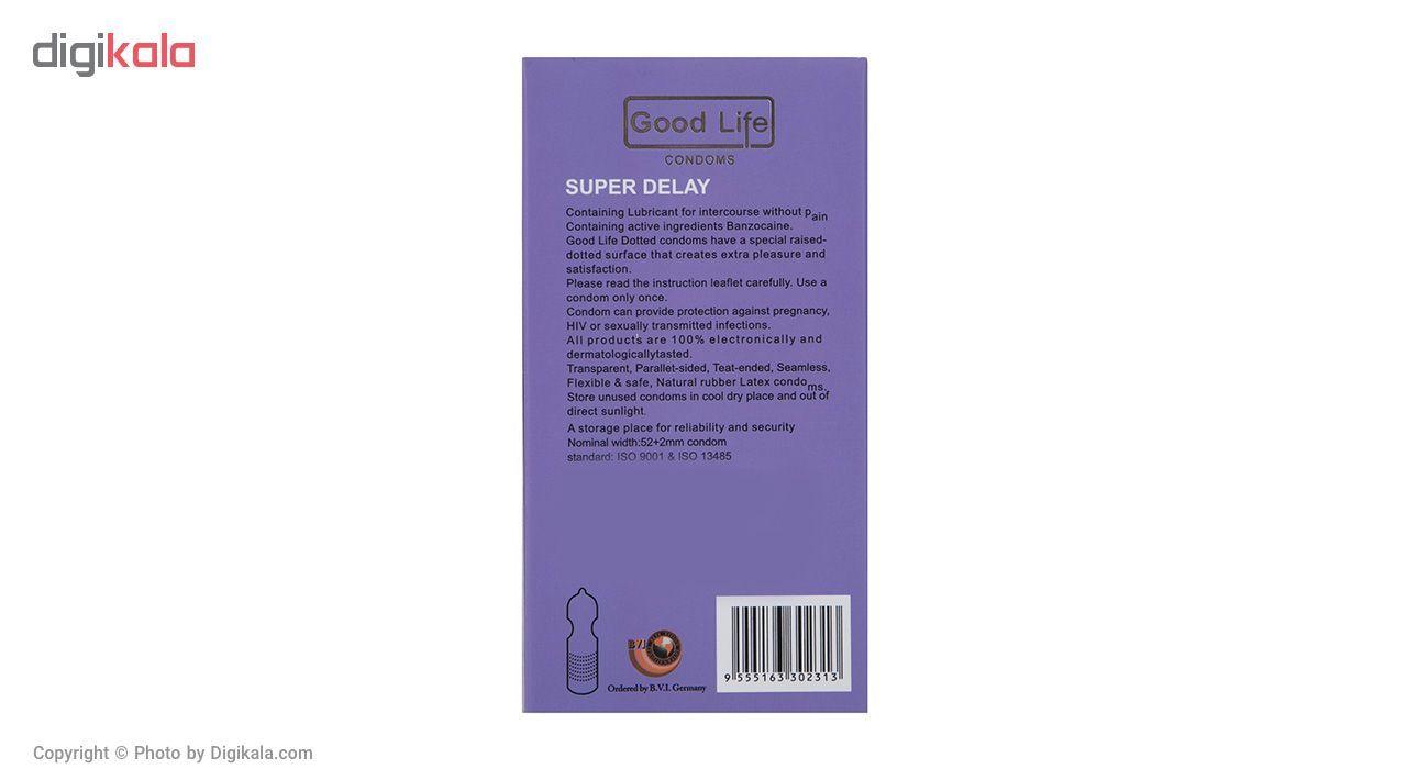 کاندوم گودلایف مدل Super Delay بسته 12 عددی main 1 2