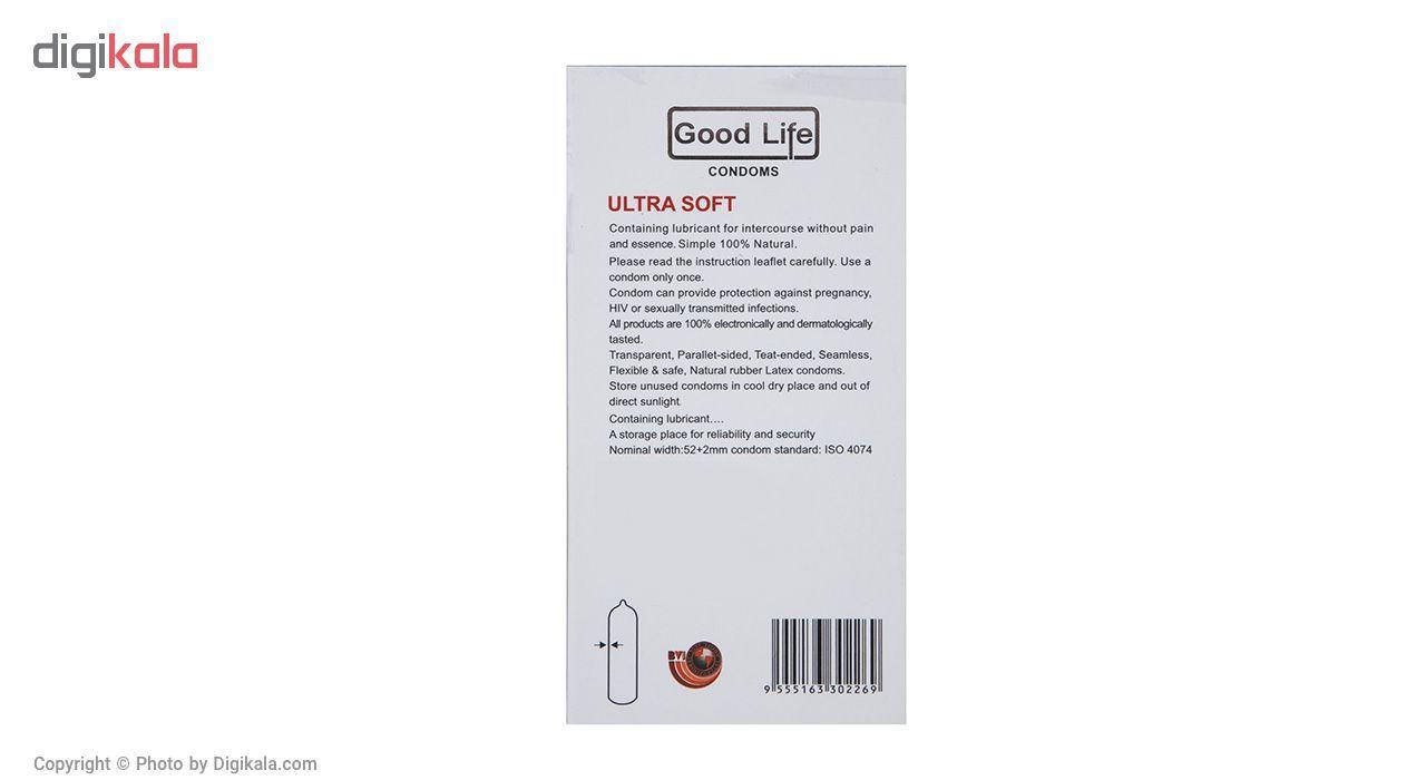 کاندوم گودلایف مدل Ultra Soft بسته 12 عددی main 1 2