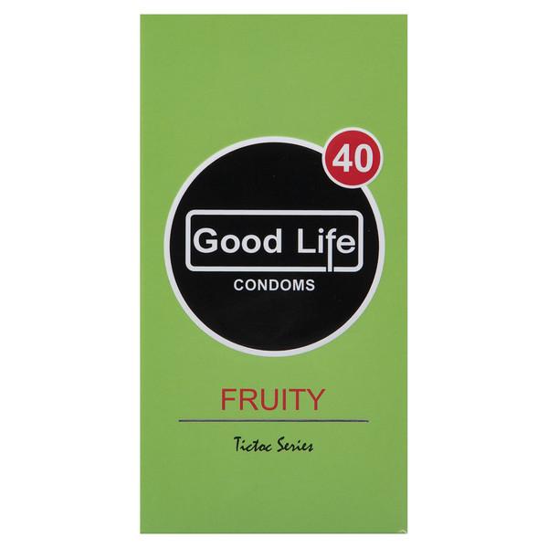 کاندوم گودلایف مدل Fruity بسته 12 عددی