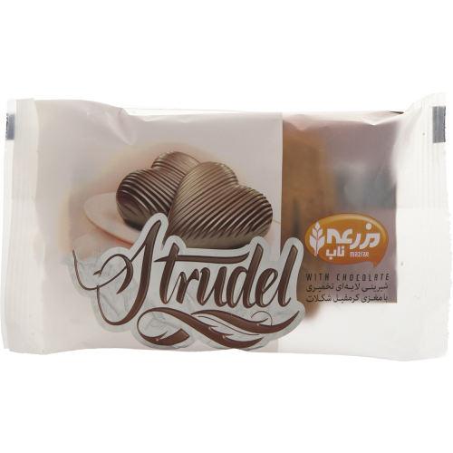 شیرینی تخمیری مزرعه با مغزی کرمفیل شکلات 70 گرم