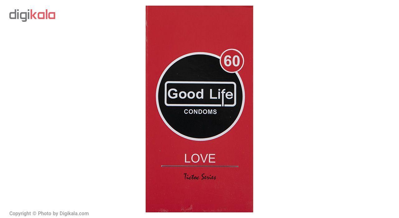 کاندوم گودلایف مدل Love بسته 12 عددی main 1 1