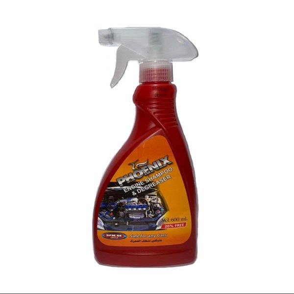 اسپری تمیز کننده موتور خودرو فونیکس کد11 حجم600میلی لیتر