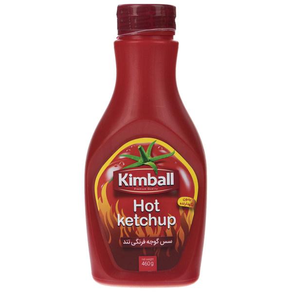 سس گوجه فرنگی تند کیم بال مقدار 460 گرم