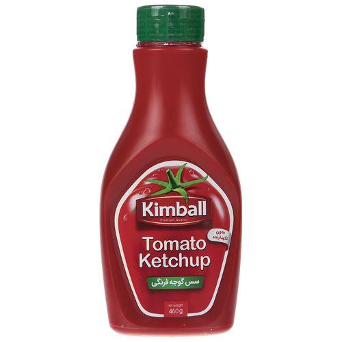 سس  گوجه فرنگی کیم بال مقدار 460 گرم