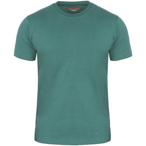 تی شرت مردانه سیمپل ورز مدل sw3-Green chamani