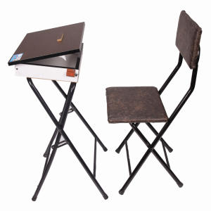 میز نماز باکسدار و صندلی (ضدخش،تاشو،تنظیم شونده ارتفاع)