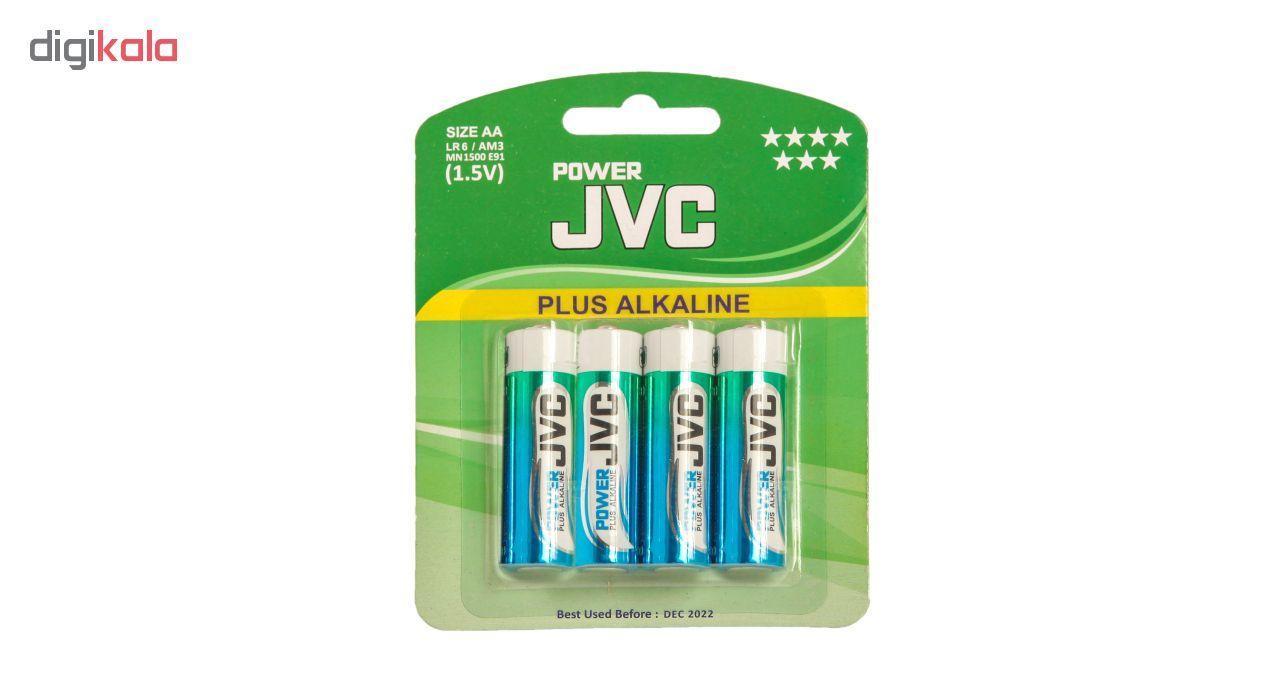 باتری قلمی جی وی سی مدل Plus Alkaline بسته 4 عددی main 1 1
