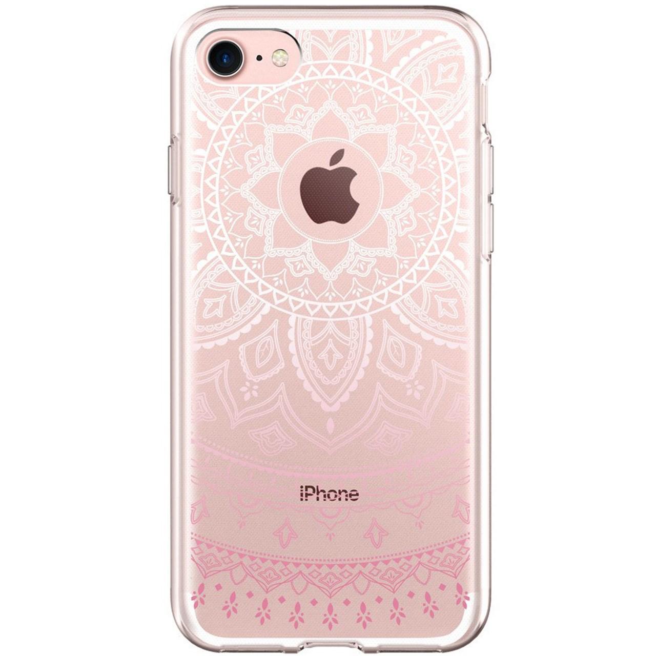 کاور اسپیگن مدل Liquid Crystal pattern مناسب برای گوشی موبایل آیفون 7