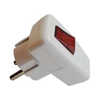 دوشاخه برق پرتو مدل Paya کلیددار