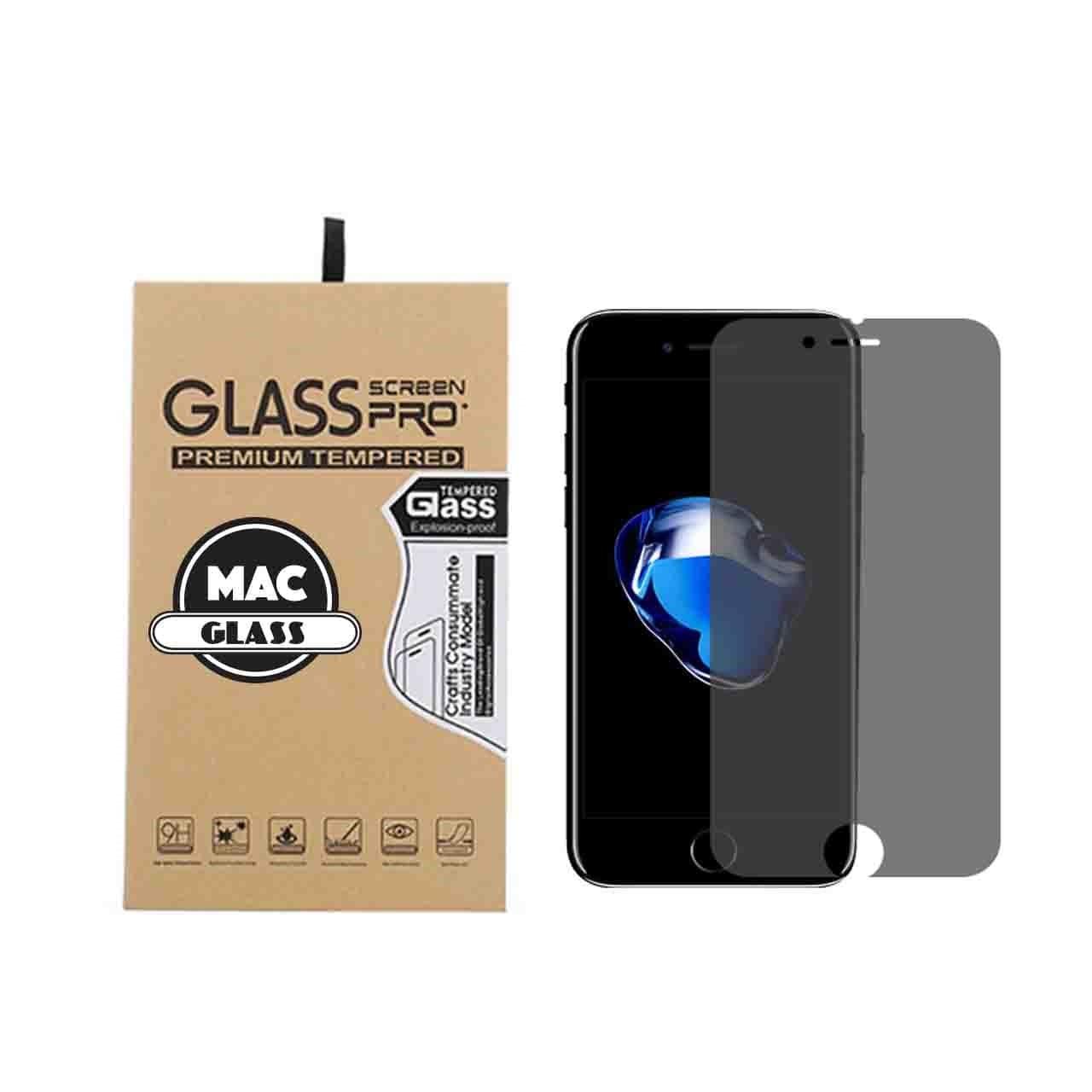 محافظ صفحه نمایش شیشه ای مک گلس مدل 2.5D مناسب برای گوشی آیفون 7 و 8 پلاس