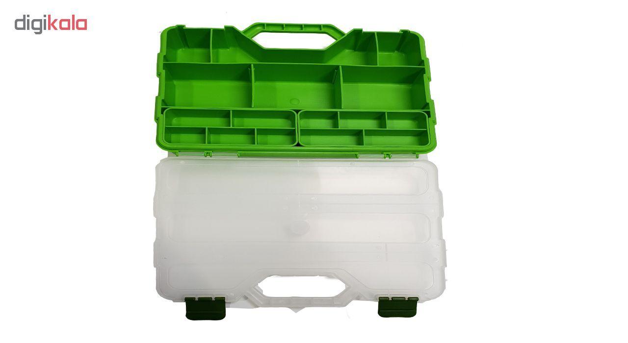 جعبه ابزار 21 محفظه مدل E10 main 1 2
