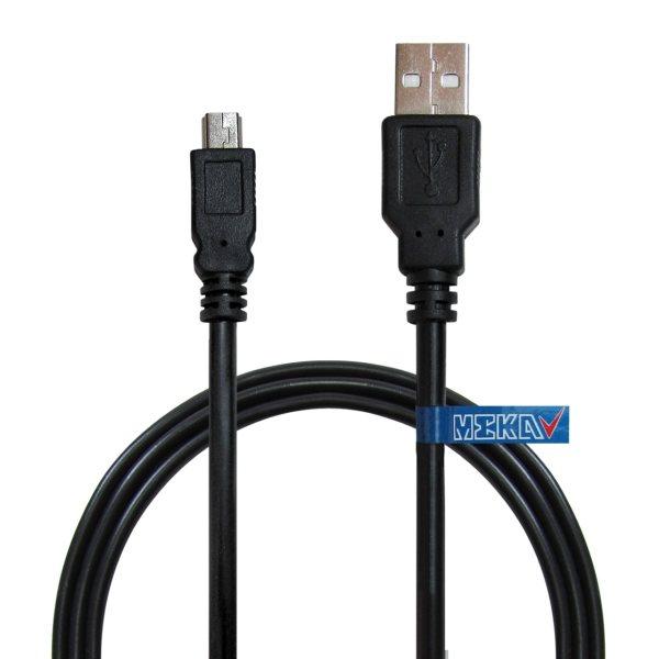 کابل تبدیل USB به miniUSB مکا مدل MCU17 طول 1.5 متر