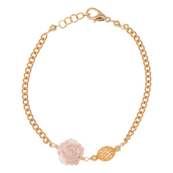 دستبند طلا 18 عیار زنانه مدل NM55