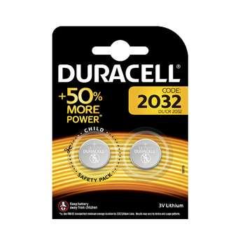 باتری سکه ای دوراسل مدل 2032 بسته 2 عددی