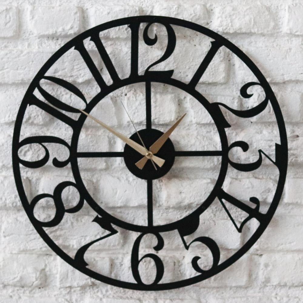 ساعت دیواری آتینو طرح Espiral سایز L