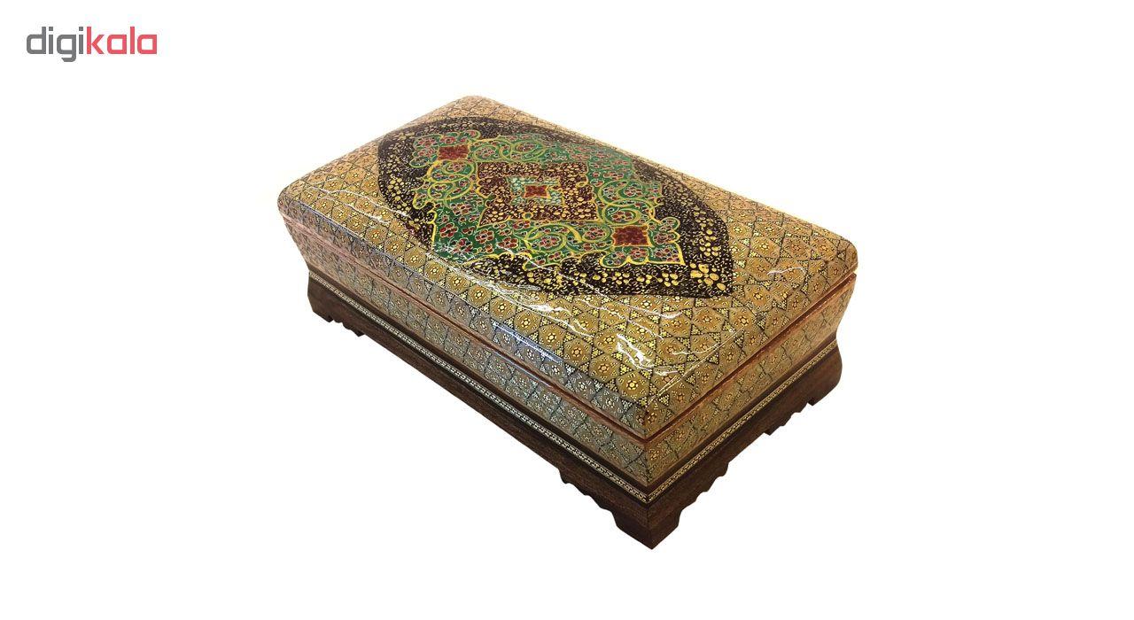 خرید                      جعبه کارد و چنگال خاتم لوح هنر کد 1068