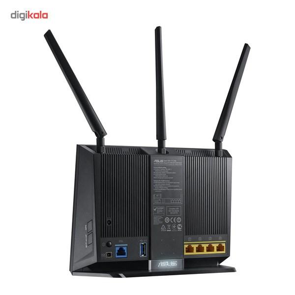 مودم-روتر ADSL/VDSL بیسیم و دوبانده ایسوس مدل DSL-AC68U