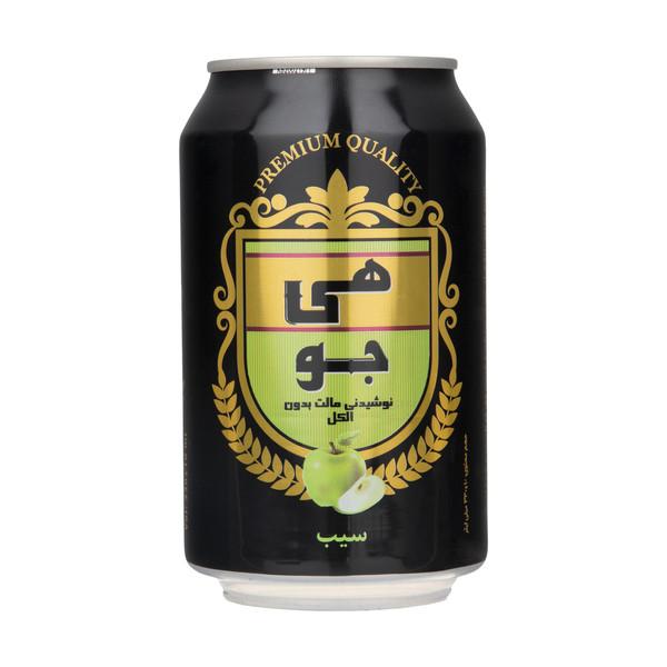 نوشیدنی مالت هی جو با طعم سیب - 330 میلی لیتر