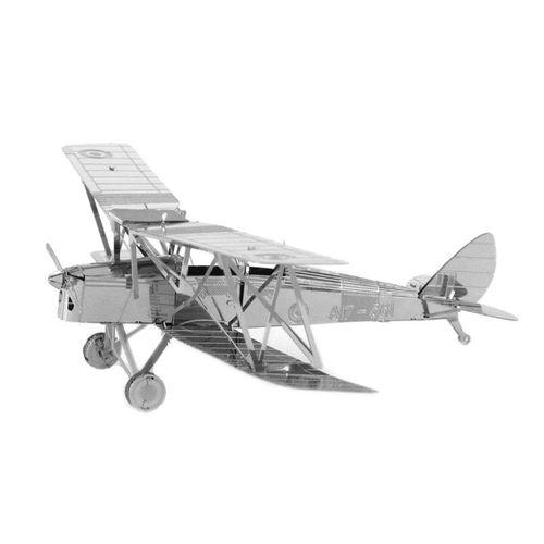 پازل فلزی سه بعدی - مدل  هواپیما ملخی BMK