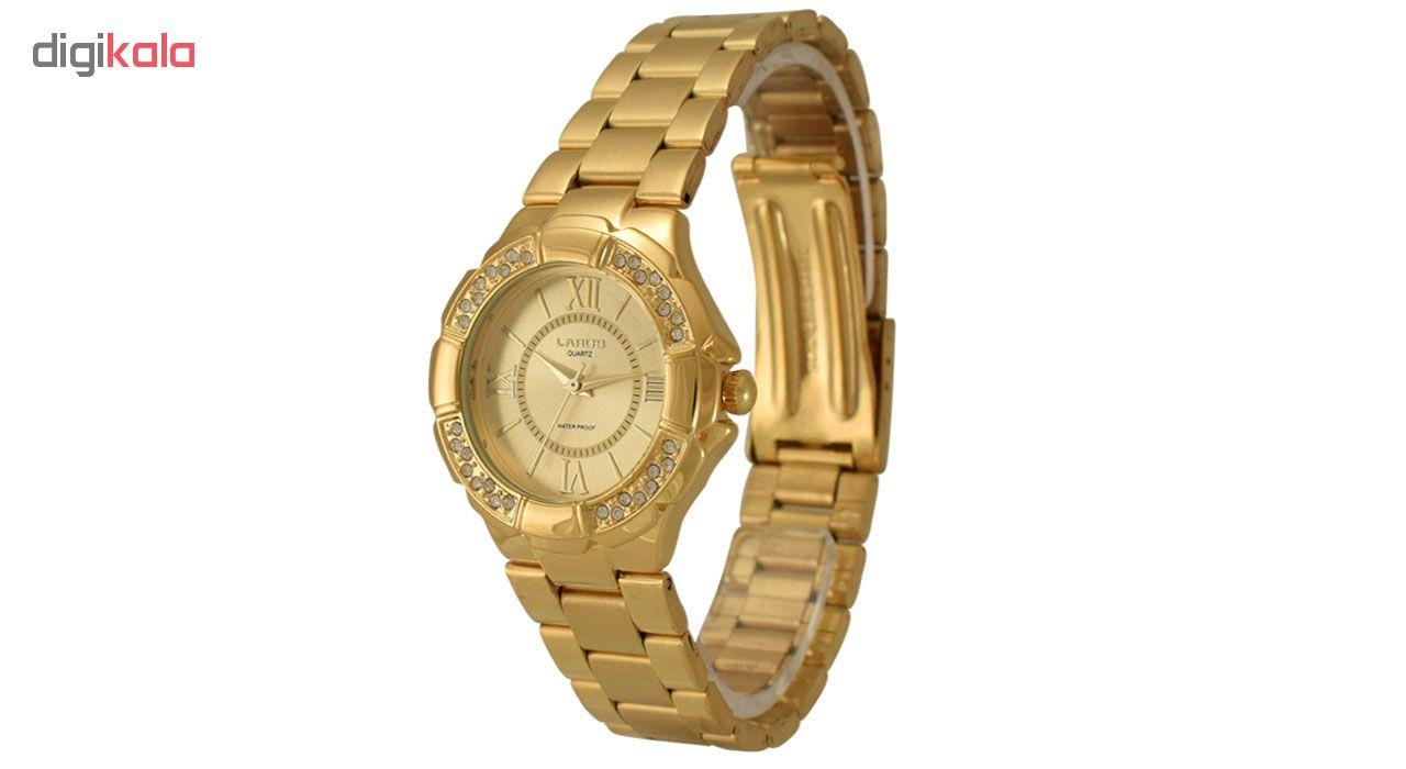 ساعت مچی عقربه ای زنانه لاروس مدل P277.109.2