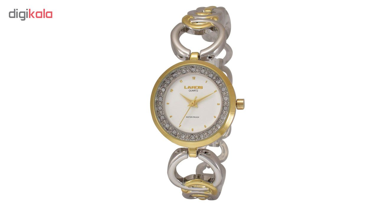 ساعت مچی عقربه ای زنانه لاروس مدل P277.116.2              ارزان