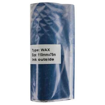ریبون پرینتر لیبل زن مدل  WAX-110-75