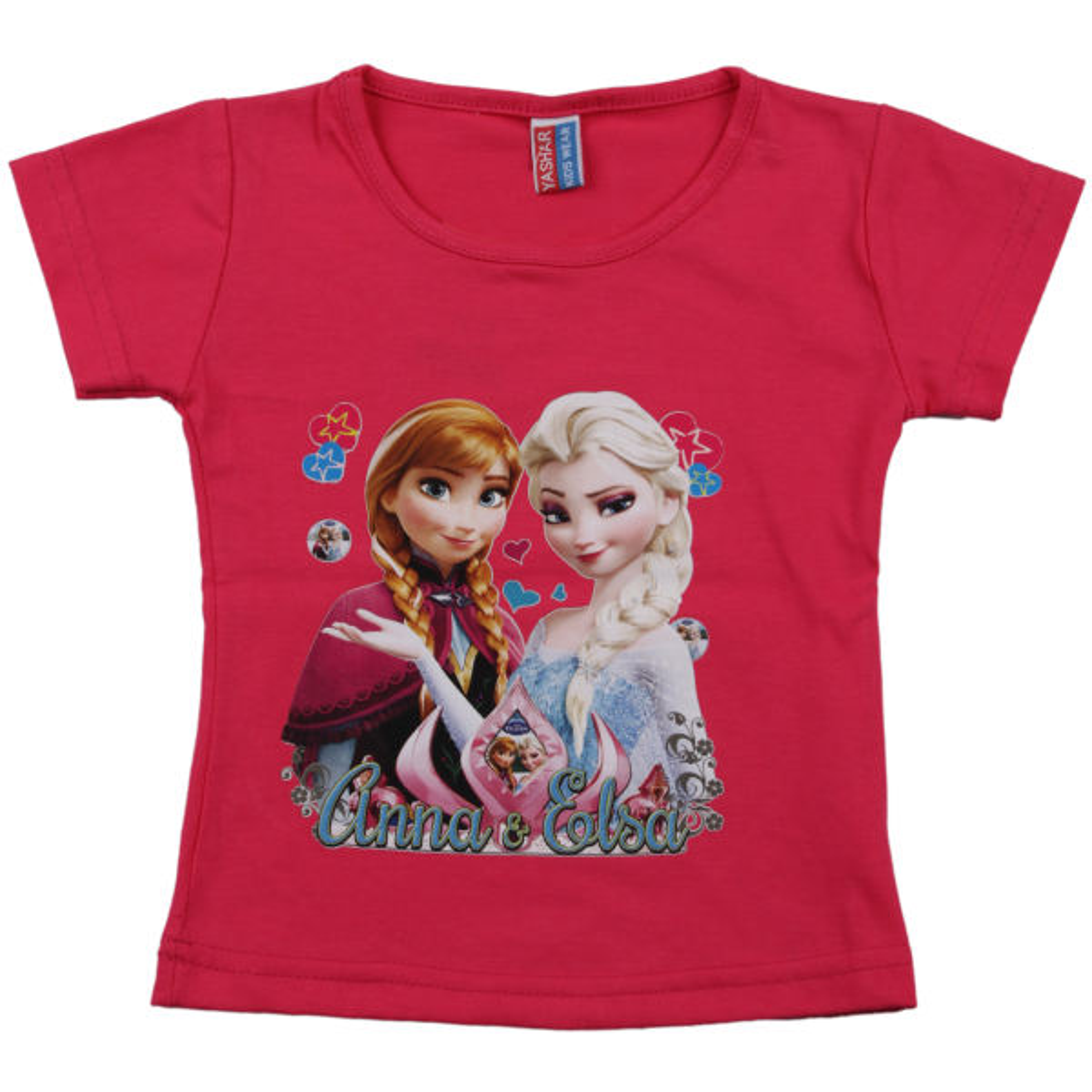 تی شرت دخترانه یاشار مدل Anna کد DLGHT-T177
