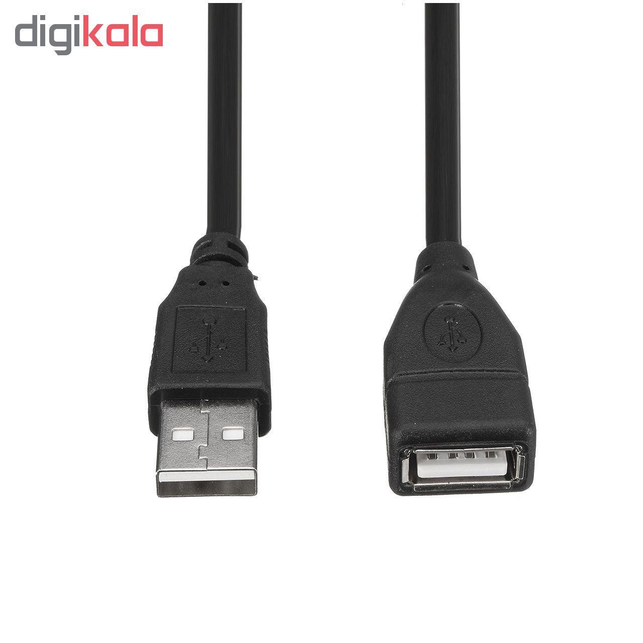 کابل افزایش طول USB مدل NVU-02 به طول 1.5 متر main 1 1