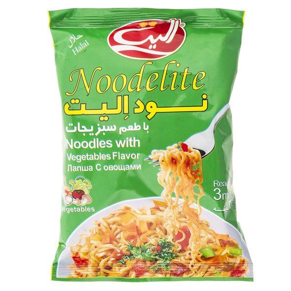 نودالیت با طعم سبزیجات الیت - 75 گرم