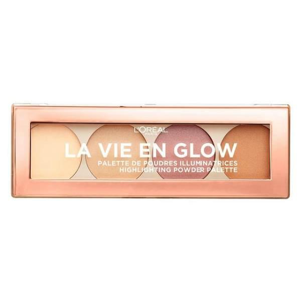 پالت هایلایتر لورآل مدل La Vie En Glow